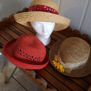 3 Sun Hats